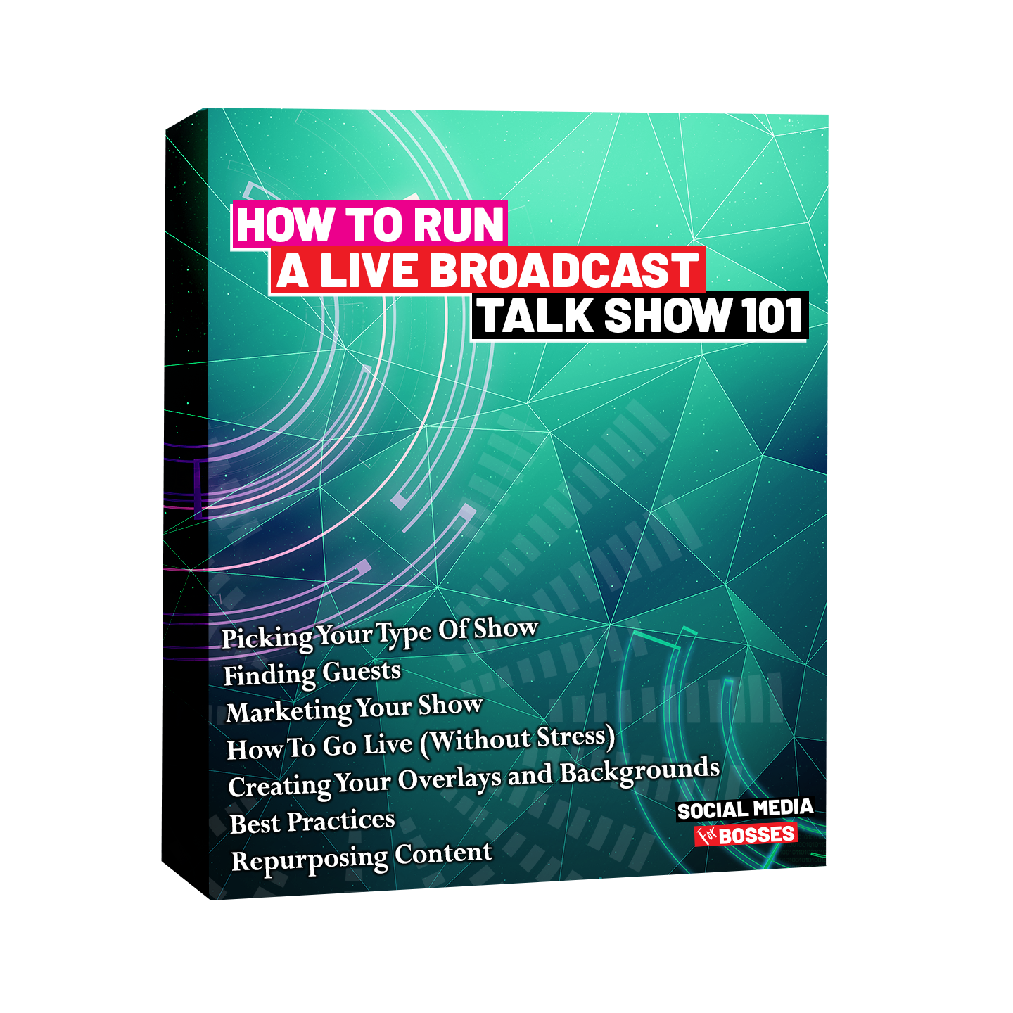 How To Run A Live Broadcast Talk Show box